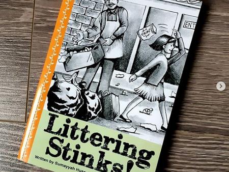 Littering Stinks! by Sumayya Hussein