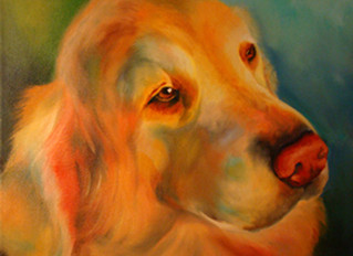 Reasons why I love painting dogs