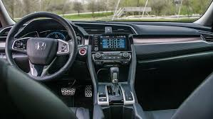 2019 civic sport interior