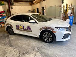 2017 Honda Civic Driver Side View NOLA D