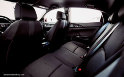 2019 Gray Honda Civic Interior 3