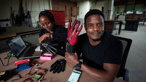 25-year-old Kenyan Engineer Invents Gloves That Turn Sign Language into Audible Speech
