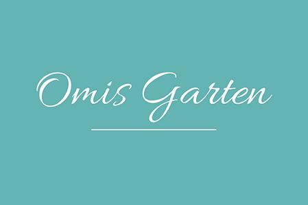 Omi backt! Omis Garten Logo