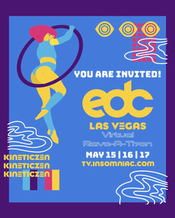 EDC Flyer: Photoshop