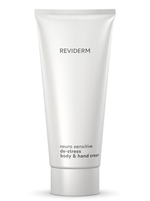 neuro sensitive de-stress body & hand cream