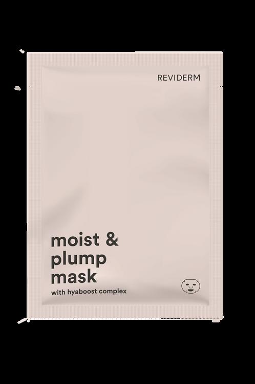 Tuchmaske - moist & plump