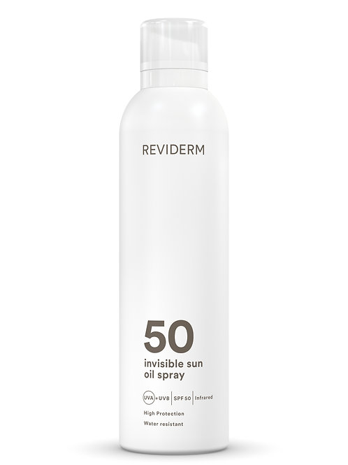 invisible sun oil spray SPF 50