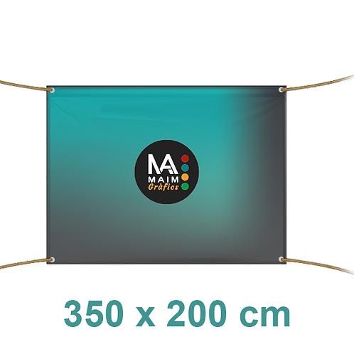 Pancarta 350x200cm