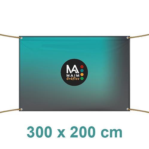 Pancarta 300x200cm
