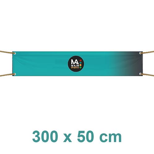 Pancarta 300x50cm