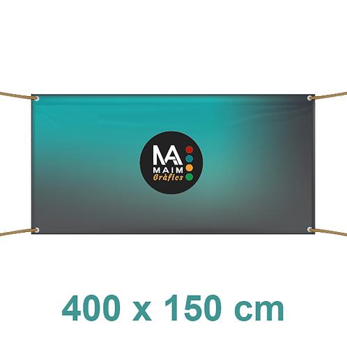 Pancarta 400x150cm