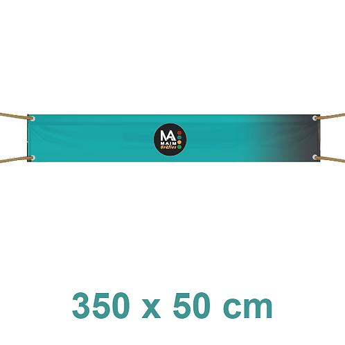 Pancarta 350x50cm