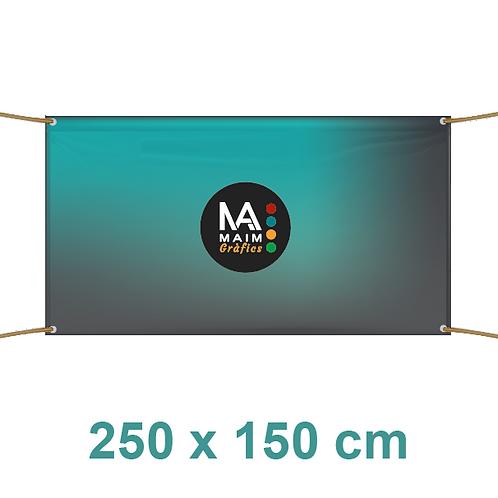 Pancarta 250x150cm