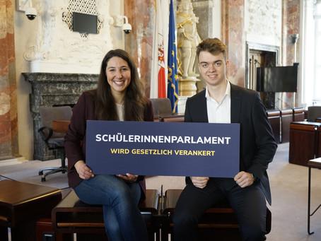 Jahrelange Forderung der Landesschülervertretung Tirol umgesetzt: