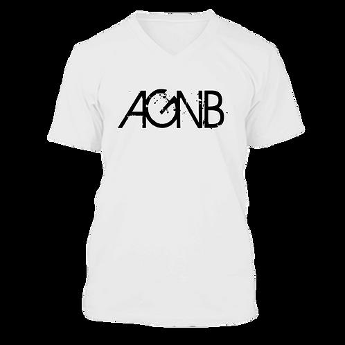AGNB V-NECK - White