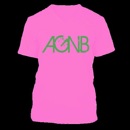 AGNB V-NECK - Pink