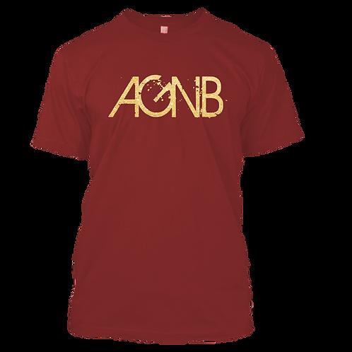 AGNB T-Shirts - Crimson