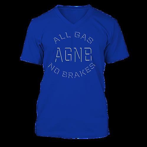 AGNB V-NECK - Blue