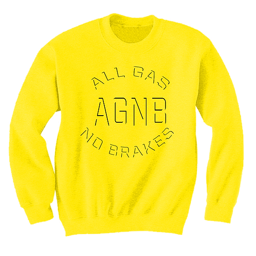 AGNB Sweater - Yellow