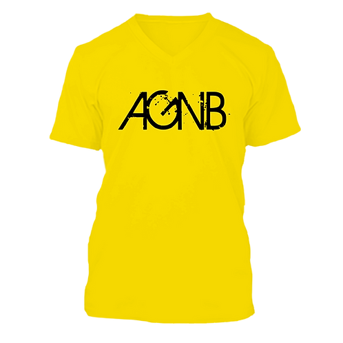 AGNB V-NECK - Yellow