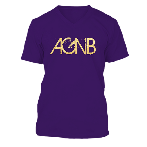 AGNB V-NECK - Purple