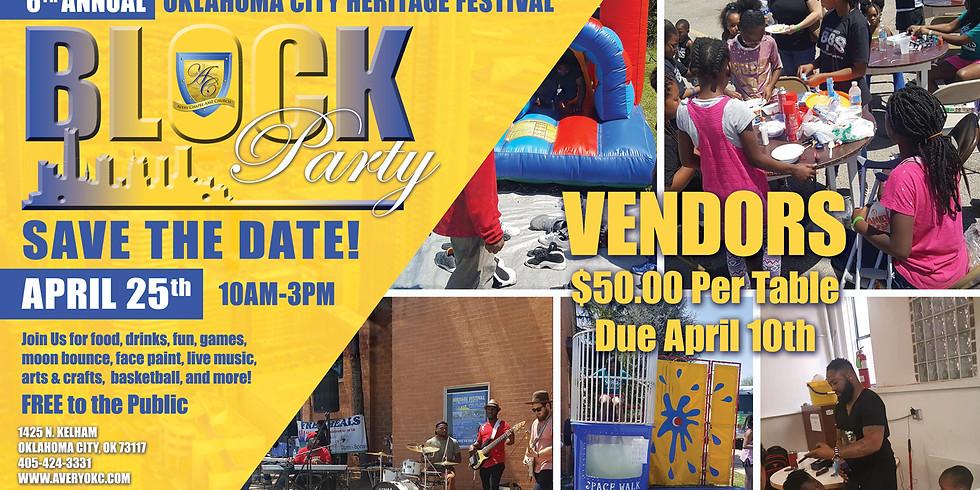 6th Annual OKC Heritage Festival & Block Party