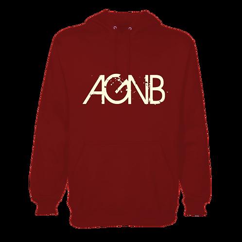 AGNB Hoodie - Crimson