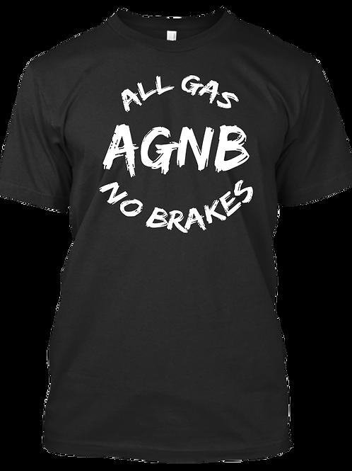 AGNB Paint Brush - Black T-Shirt