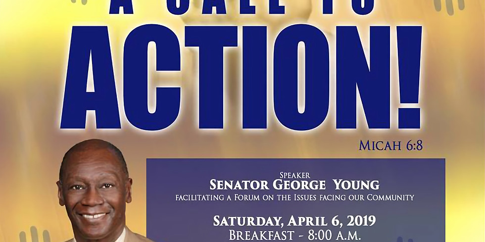 """7th Annual Prayer Breakfast: """"A Call To Action"""""""