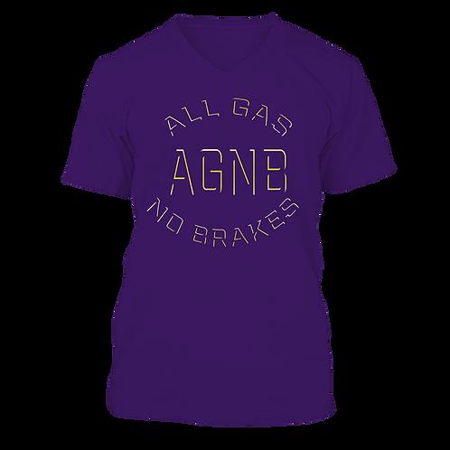 AGNB V-NECK - Purple