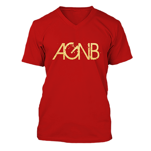 AGNB V-NECK - Red