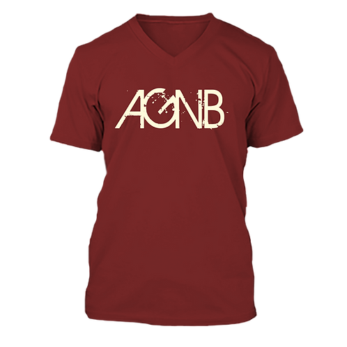 AGNB V-NECK - Crimson