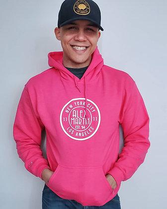 Pink Alex Martin Hoodie