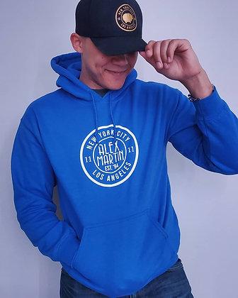 Blue Alex Martin Hoodie