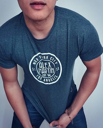 Grey Alex Martin T-Shirt