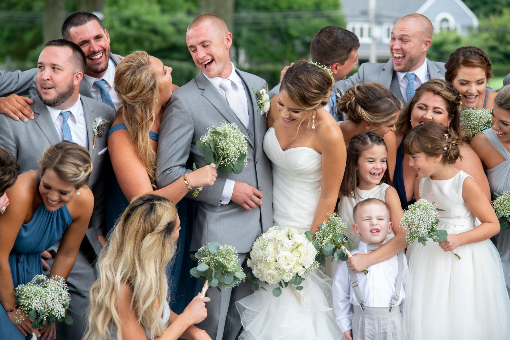 Joyful Bridal Party