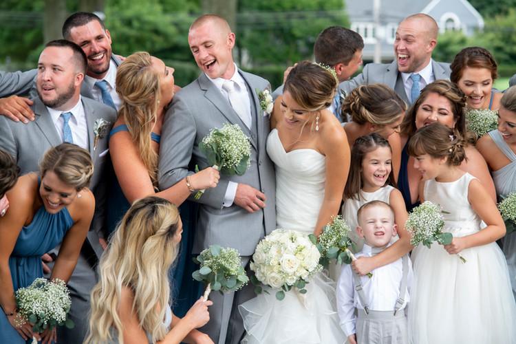 Joyful Bridal Party