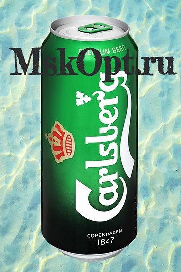 """Пиво """"Карлсберг Светлое"""" (24шт.) ж/б 0.45л"""