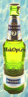 "Пиво ""Балтика №7 Экспортное"" (20шт.) с/т 0.45л"