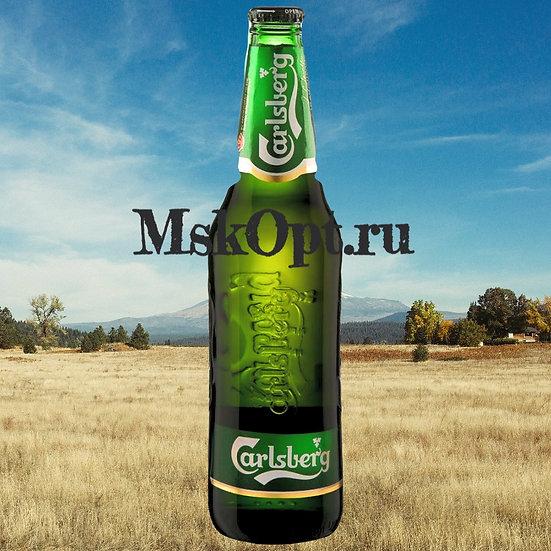 """Пиво """"Карлсберг Светлое"""" (20шт.) с/т 0.45л."""