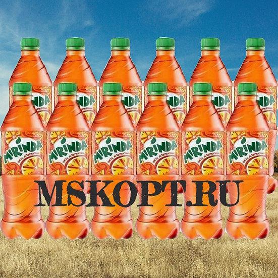 """Лимонад """"Миринда"""" 0.5 литра упаковка из 12 шт. бутылок"""