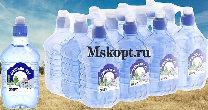 "Вода ""Шишкин лес"" ""Спорт"" (12 шт.) ПЭТ 0,4 л."