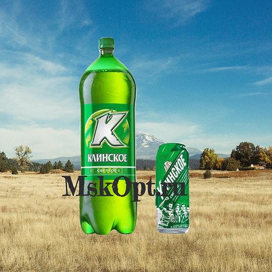 "Пиво ""Клинское Светлое"" (6шт.) ПЭТ 1.4л"