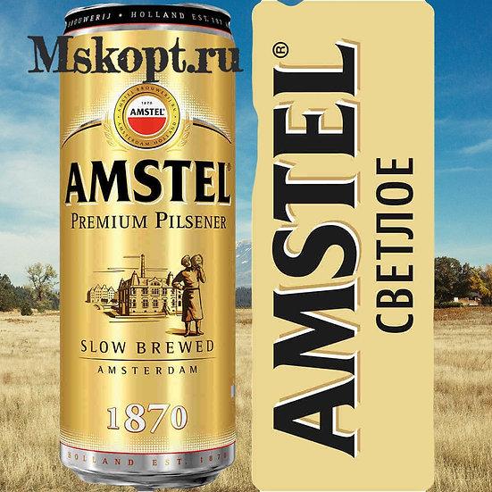 "Пиво ""Амстел"" (24 шт.) ж/б 0,5 л., шт"