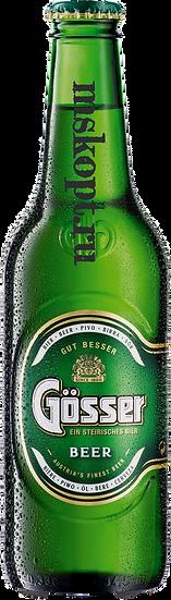"""Пиво """"Гёссер"""" (20 шт.) Стекло 0,45 л., шт"""