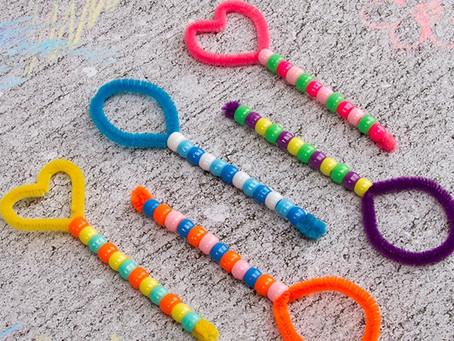 DIY Chenille Sticks Kid's Crafts