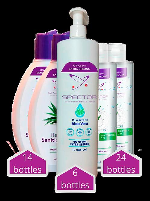 Sanitizers Kit - 44 bottles