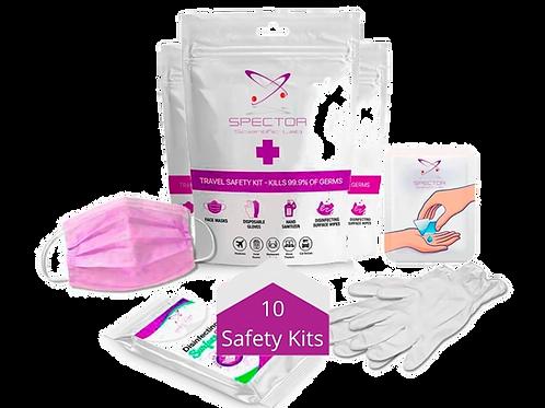 10 safety kits