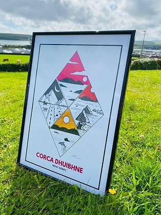 Corca Dhuibhne - Slea Head Poster
