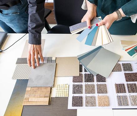 materiaalkeuze ontwerpplan